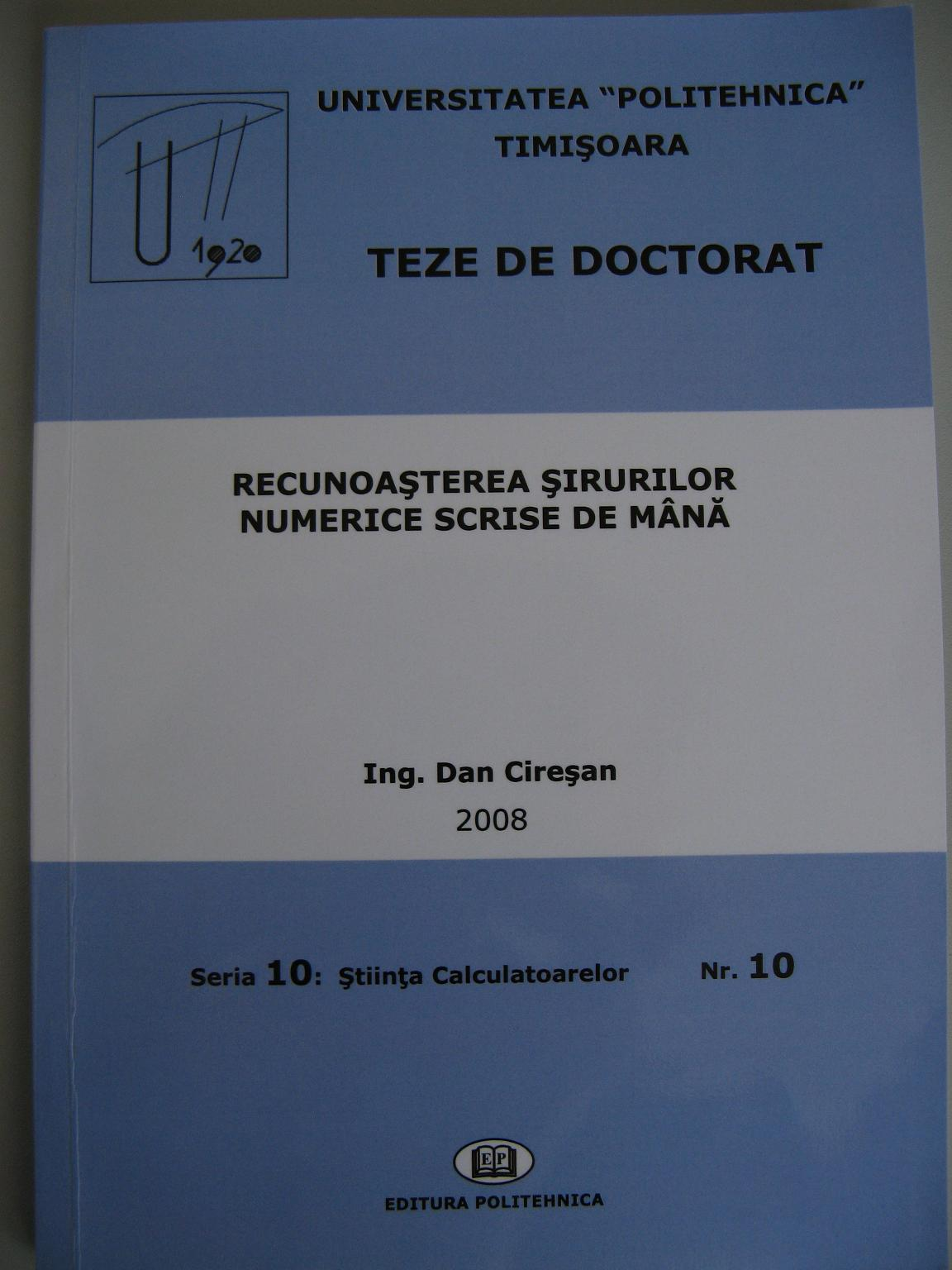 thesis doctoral degree