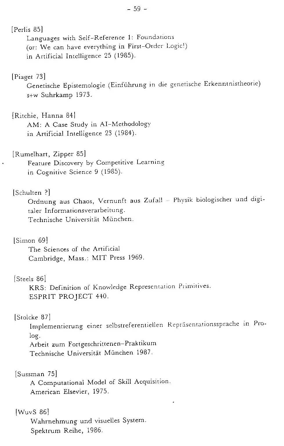 1987 THESIS ON LEARNING HOW TO LEARN, METALEARNING, META GENETIC ...